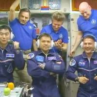 Japanese astronaut Yui reaches space station