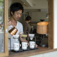 Subtly subversive coffee in Tokyo's book district