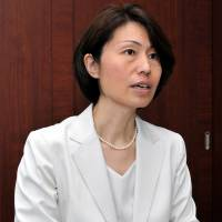 Sport For Smile's Mie Kajikawa speaks to The Japan Times during a recent interview in Tokyo. | YOSHIAKI MIURA