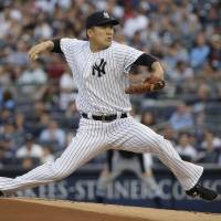 Tanaka shaky in no-decision