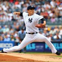 Tanaka ends winless run as Yankees defeat Athletics