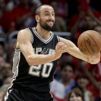 West, Ginobili team up to help Spurs reload