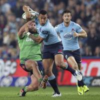 Folau, Etzebeth sign with Top League's Red Hurricanes