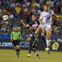 Gerrard makes winning debut with Galaxy