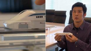[VIDEO] Linear Liner: Maglev toy train by Tomy