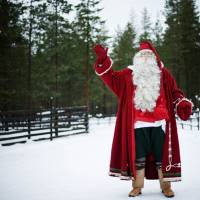 Santa Claus poses in December 2011 at Rovaniemi, Finnish Lapland. Santa Claus is broke and has filed for bankruptcy in Finland, or at least a popular Santa tourist attraction on the Arctic Circle has done so, a court said Thursday. | AFP-JIJI