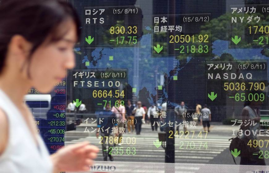 Stocks slump as China weakens yuan for second day