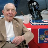 Marine fighter ace 'Fritz' Payne dies at 104, fought over Guadalcanal