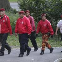 Guardian Angels resume Central Park rounds decades later as crime fears rise