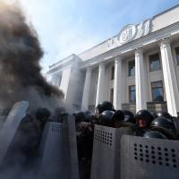 Fierce clashes break out in Kiev