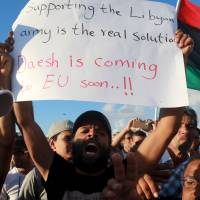 Firefights among Islamic State, rival groups claim 42 in Libya