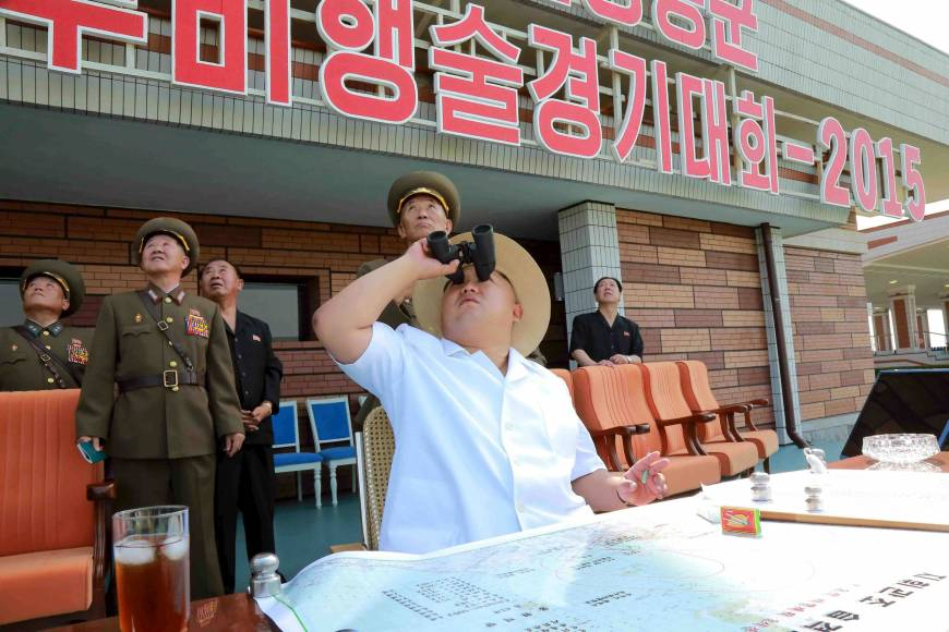 North Korea installing cover at launch site in bid to evade surveillance