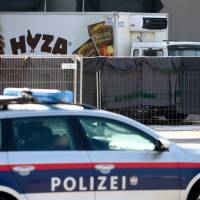 Refugee death truck packed five per square meter