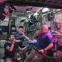 Giant leaf for mankind: ISS-grown salad passes astronaut taste test
