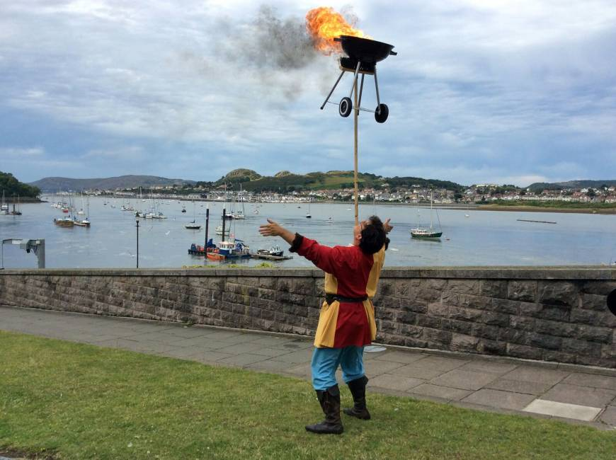 British town appoints first jester in 700 years