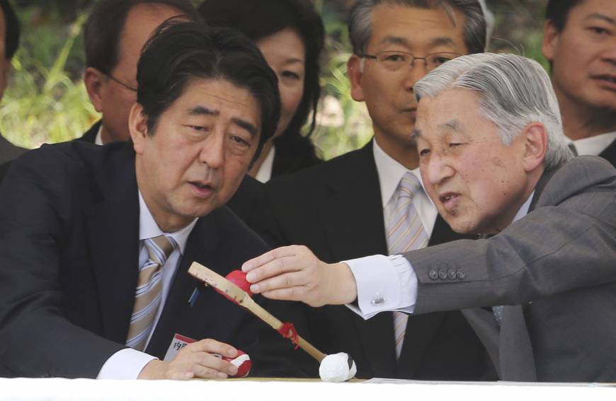 As Abe gears up for WWII anniversary statement, will Emperor weigh in?