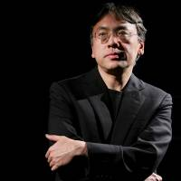 A research library at the University of Texas will get the archives of British-based Japanese writer Kazuo Ishiguro, pictured during an interview in New York on April 20. | REUTERS