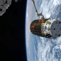 Japan's unmanned cargo ship arrives at International Space Station