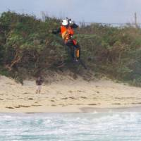 Three family members drown in high waves off Okinawa beach