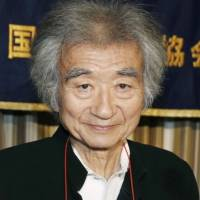 Injury forces famed conductor Ozawa to cancel festival performances