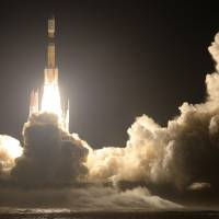 Japanese rocket blasts off, carrying supplies to International Space Station