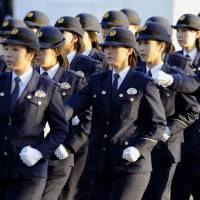 The Metropolitan Police Department is considering an all-female riot squad for the 2020 Olympic Games in Tokyo as part of so-called light-touch security. | KYODO