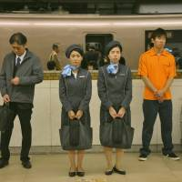 Ex-AKB48 star resists a sleazy stranger on train in 'Round Trip Heart'
