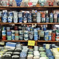 Pottery lovers' cup of tea: Selections of Arita ware can be found in local shops. | MANDY BARTOK