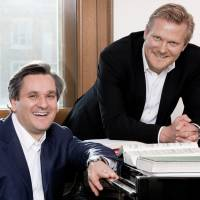 In tune: The Royal Opera's music director, Sir Antonio Pappano (left), and director of opera, Kaspar Holten. | JOHAN PERSSON