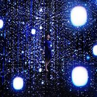 'Walk Through the Crystal Universe' by teamLab