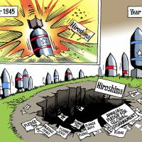 Link nuclear disarmament and nonproliferation efforts