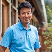 'We wanted to make a place where children can stay, interact with the locals, enjoy the natural environment and learn about sustainability in an organic way,' says Gentaro Yui, director of the Sweet  Treat 311 NPO. | ROB GILHOOLY