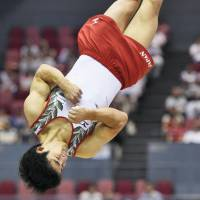 Shirai shines at Asian gymnastics championships