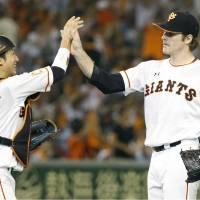 Giants hurler Mikolas tosses complete game, improves to 9-3
