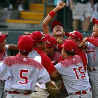 Japan rallies from record eight-run deficit to win Little League World Series