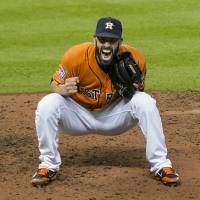 Astros' Fiers throws no-hitter