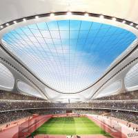 Plans for the 2019 Rugby World Cup have been thrown into turmoil by Prime Minister Shinzo Abe's order to scrap the proposed design for a new National Stadium, which was scheduled to host the final. | AP