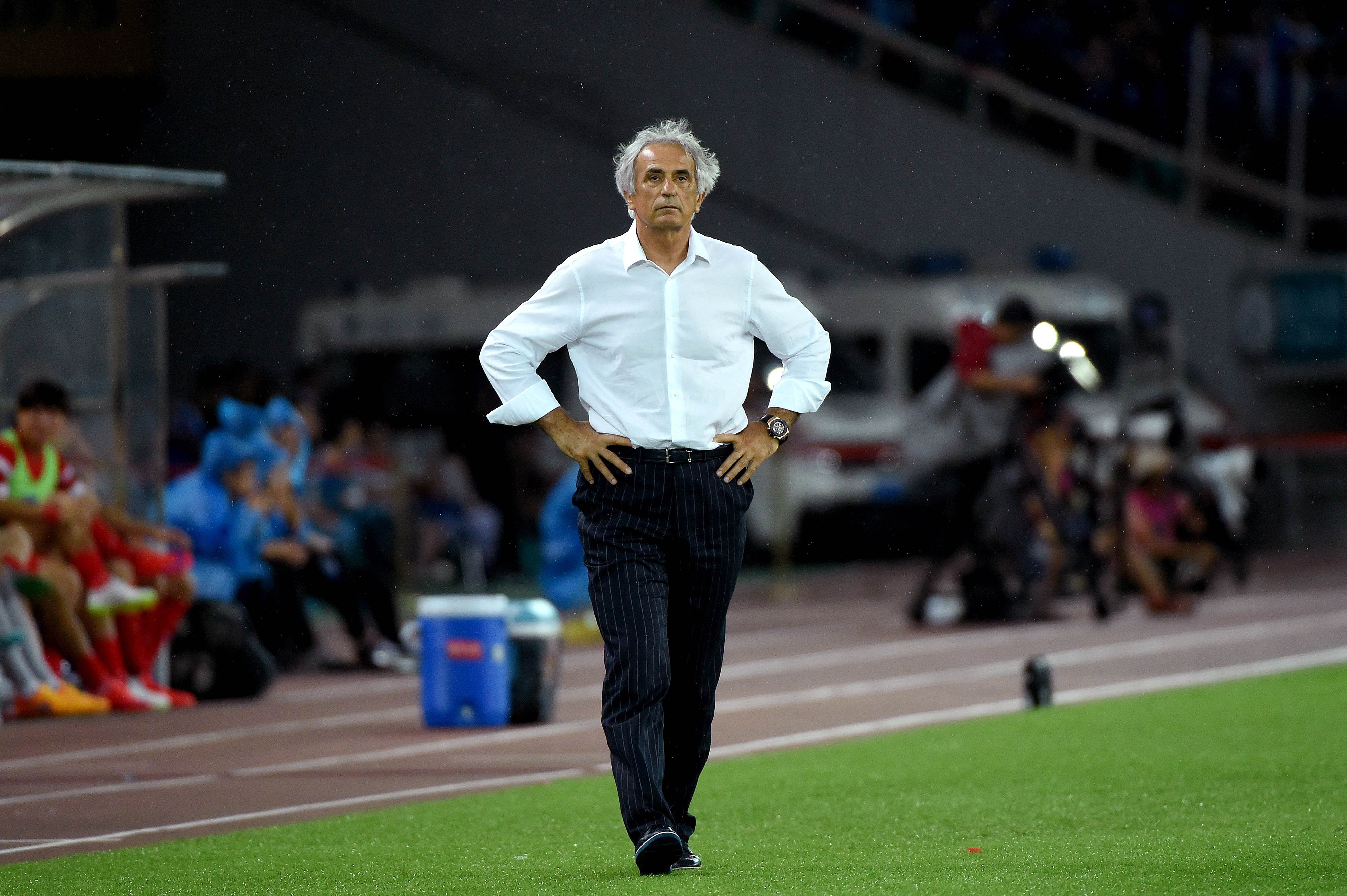National team manager Vahid Halilhodzic has faced a backlash after failing to win a single game at the East Asian Cup in China last week. | AFP-JIJI