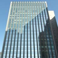The headquarters of Mitsui Sumitomo Insurance Group Holdings Inc. is pictured in Tokyo in this 2008 file image. | BLOOMBERG
