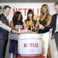 Netflix launches in Japan, aims to reach one-third of Internet households