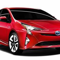 The new Prius hybrid is the first global vehicle built under Toyota's strategy of sharing components across models. | TOYOTA MOTOR CORP. / KYODO