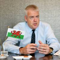 Welsh leader uses first visit to Japan to flag increased exports, stronger bilateral ties