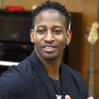 Counting blessings: Gospel singer John Lucas came to Japan from Jamaica as part of an English-teaching program. He has since begun teaching gospel music and recorded two full-length albums. | KYODO