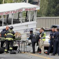Japanese national among four students killed in U.S. bus crash