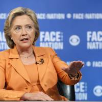 Clinton urges U.S. to vet, admit thousands off refugees, sidesteps question of Syria crisis blame