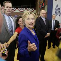 Clinton comes out against Keystone XL pipeline, calls for $250 a month cap on prescription expenses