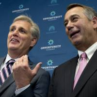 McCarthy tries to lock up Boehner's job as GOP hard-liners fail to defund Planned Parenthood, idle government