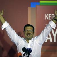 Greek voters give Tsipras second chance; party will form coalition government
