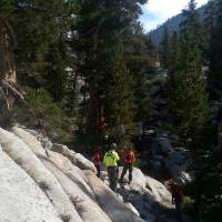 Sierra hiker missing nine days recounts straying from group, injurious fall, whistling for rescue
