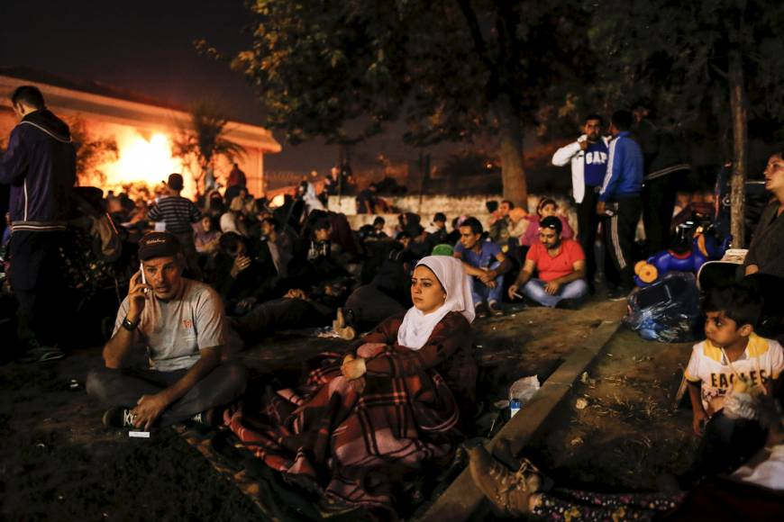 Refugee surge to Europe raises concern about militants